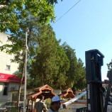 Belediye Mobese Kameraları Yerlerine Takıldı