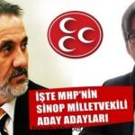 MHP'nin Sinop Milletvekili Aday Adayları