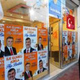 AK Parti Boyabat'ta Seçim Bürosunu Açtı