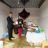 Boyabat'ta 2. Tarım Tanıtım Fuarı'na katılan Esnaflara, Başkan Çakıcıdan katılım plaketi