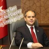 Gençlik ve Spor Bakanı Akif Çağatay Kılıç Sinop'a geliyor