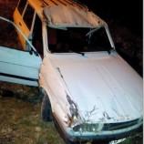 Son Dakika : Otomobil Şarampole Yuvarlandı: 1 Yaralı..