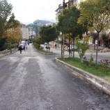 Boyabat'ta yollar asfaltlanıyor…