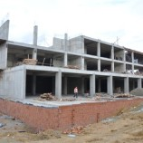Tüm Engellemelere Rağmen Boyabat Kültür Merkezi inşaatı hızla yükseliyor..