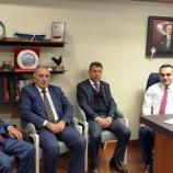 Belediye Başkanlarından Vekil Barış Karadeniz'e Nezaket Ziyareti..