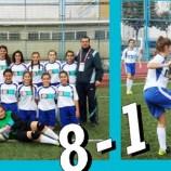 Kızlar gol oldu yağdı!…