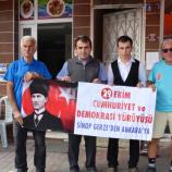 Cumhuriyet Bayramı İçin Sinop'tan Ankara'ya Yürüyorlar……..