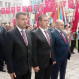 Boyabat'ta Cumhuriyet Coşkusu Çelenk Sunumuyla Başladı……