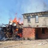 SON Dakika ; Köyde Korkutan Yangın…..