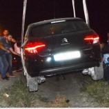 SON Dakika ; Otomobil Bariyerlerde Durdu, Sürücü Kazayı Ucuz Atlattı…..