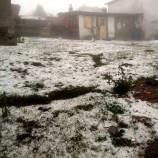SON Dakika; Boyabat'a Temmuz Ayında Kar Yağdı…..