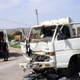 SON Dakika ; Boyabatlı Kamyonet Hanönü'nde Kaza Yaptı, 2 Yaralı….