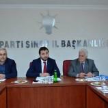 GÜNCEL Haber ; Başkan Ali Çöpçü, İL ve İlçe Teşkilatı İle Toplantı Yaptı….