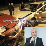 AK Parti Durağan İlçe Başkanı, Boyabat Durağan Yolunda Kaza Geçirdi….