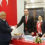 Sinop MHP İl Başkanı Ali Çakır İstifa Etti….