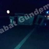 Boyabat –Saraydüzü Yolunda Trafik Kazası, 1 Ağır Yaralı…