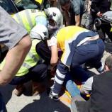 Boyabat Sanayi Sitesi Kavşağında Feci Trafik Kazası , 3 Yaralı ….