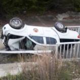 Boyabat –Sinop Yolu Tünel Bölgesinde Otomobil Takla Attı, 2  Yaralı…