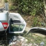 Boyabat Pazar Yokuşunda Otomobil Takla Attı, Bir Yaralı….