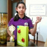 Boyabatlı Asya Arıcı, 15 Temmuz Ruhu Konulu Karikatür Yarışmasında Türkiye Birincisi Oldu…