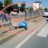 Otomobil Yaya Geçitin'de Yayayı Biçti, 1 Ağır Yaralı…..