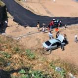 Kadın Sürücünün Kullandığı Otomobil Şarampole Uçtu, 1 Yaralı….