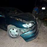 Hasta Taşıyan Otomobil Kaza Yaptı, 1 Ağır Yaralı….