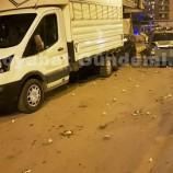 Boyabat Saraydüzü Kavşağında Zincirleme Trafik Kazası, 4 Yaralı….