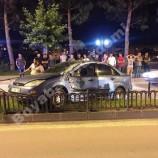 Boyabat Yeni Mahallede Maddi Hasarlı Trafik Kazası….