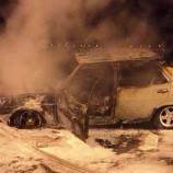 Seyir Halindeki Otomobil Alev Aldı, Faciadan Dönüldü…