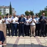 Kaymakam Fatih Aksoy 15 Temmuz Anma Programına Şehitlik Ziyareti İle Başladı…