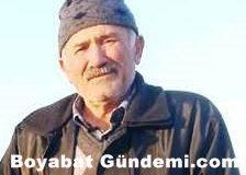 Salar Köyü Eski Muhtarı  Mehmet Atakoğlu Vefat Etti….