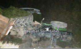 Boyabat Cemalettin Köyünde Traktör Devrildi…