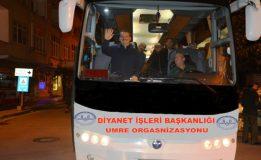 Sinop'lu Umrecilerin; Kutsal Topraklara Yolculukları Başladı…