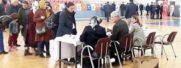AK Parti Sinop'ta Sandığa Gitti…