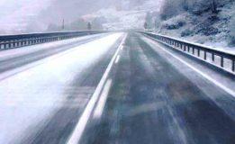 Dıranas Tünelinde Kar Yağışı Etkili Oluyor…
