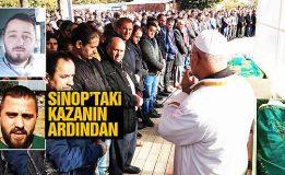 Boyabat-Sinop Yolundaki Feci Kamyon Kazasında Hayatını Kaybeden, İki Kişi Toprağa Verildi….