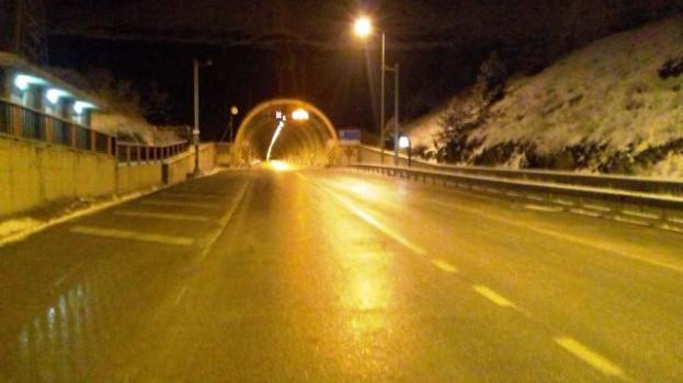 Boyabat Sinop Yolu Dıranas Tünelinde Kar Yağışı Etkili Oluyor…