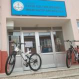 Boyabat'ta 'Sahibini Arayan Bisikletler'….