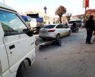 Boyabat Köprü Başında Maddi Hasarlı Trafik Kazası….