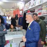 Bağımsız Belediye Başkan Adayı Gazeteci, Mete Çağdaşa Esnaftan Tam Destek…..