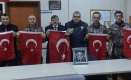 Sinop İl Emniyet Müdürü Dağdeviren'den polislere moral ziyareti….