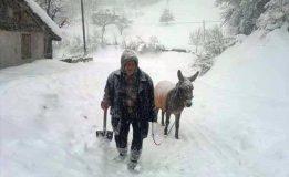 Meteoroloji Uyardı, Yoğun Kar Yağışı Geliyor…..