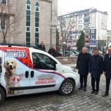 """Başkan Çakıcı ; """"Sokak Köpeklerine Sahip Çıkacağız"""", Hayvan Ambulansı Hizmete Girdi…."""