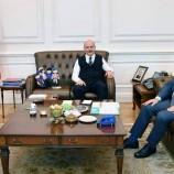 Vekil Dr. Nazım Maviş İçişleri Bakanı Süleyman Soyluyu Makamında Ziyaret Etti….