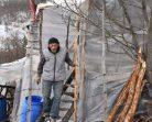 Kış Günü Naylon Barakada Yaşam Savaşı, Yer SİNOP- Yıl 2019….