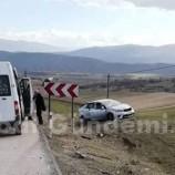 Boyabat –Saraydüzü Yolunda Feci  Trafik Kazası, 3 Yaralı..