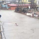 Boyabat'ta Beton Yol Çalışmaları Devam Ediyor…..