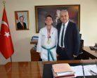 Kaymakam Aksoy, Şampiyonu Ağırladı…