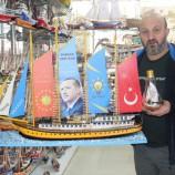 Kotra Maketini Cumhurbaşkanı Erdoğan'a Hediye Etmek İstiyor……